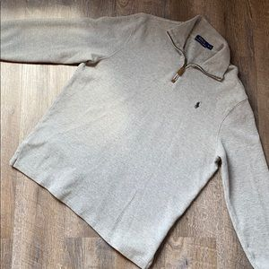 Mens Polo Ralph Lauren Gray Pullover M